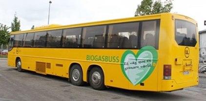 Scania bus biofuel